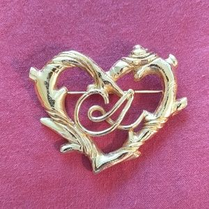 Vintage, Christian Lacroix Heart Brooch